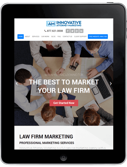 Law Firm Marketing in Davis Creek, CA